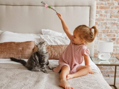 5 Tips on Teaching Children to Look After their Pets